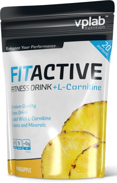 VPLab FitActive L-Carnitine Fitness Drink