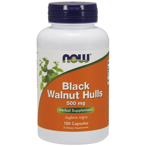 Черный орех (Black Walnut Hulls) Now Foods