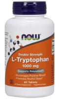 L‐Tryptophan Now Foods (Л‐Триптофан Нау Фудс), 1000 мг, 60 таблеток