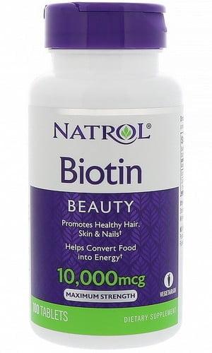 Как пить биотин 10000